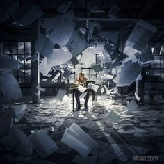 The Writer by Sébastien Roignant