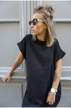 tHE PERFECT black dress hair color shades – hair ideas Outfit Vestido Negro, Black And White Outfit, Dress Black, Black Hair, Day Drinking Outfit, Corte Y Color, Summer Hairstyles, Womens Bob Hairstyles, Bob Updo Hairstyles