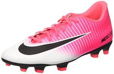 new styles 4979d 0a44f Mercurial Vortex III FG Racer Pink Black White Men s Soccer Shoes     You  can find out more details at the link of the image. (This is an affiliate  link)
