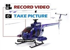 """12"""" MEDIUM SIZE DEFENDER SPY CAMERA RC HELICOPTER YIBOO UJ301 3 Channels Photo by YIBOO. $85.99. Description: YIBOO UJ301 HELICAM 3 CH RC HELICOPTER Ready To Fly! Best choice for Beginners & RC Flyers! Now with a Gyro System (for precision control)!. Features: 1. RECORD YOUR FLIGHTS WHILE FLYING 2. TAKE YOUR PICTURES IN THE AIR 3. TRANSFER  YOUR VIDEOS $ PICTURES TO YOUR PC 4. SHARE YOUR VIDEOS & PICTURES ON FACEBOOK & YOUTUBE    Specification: Length: 12 in Width..."""