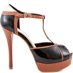 Heels I Love #heels #summer #high_heels #color #love #shoes Ritta - Mocha Combo  					Jessica Simpson