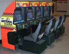 Loved challenging my friends to a race on the daytona usa arcade machine at our local laser quest. Happy days.