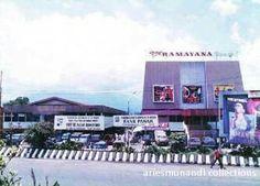 Pasar dan Bioskop Ramayana Theatre 1980