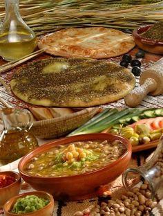 Gr8 2 remember how much I love Lebanese food... breakfast Yum :-)