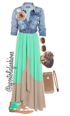 """Apostolic Fashions #842"" by apostolicfashions on Polyvore featuring Saloni, Soul Cal, Eloquii, maurices and Topshop"