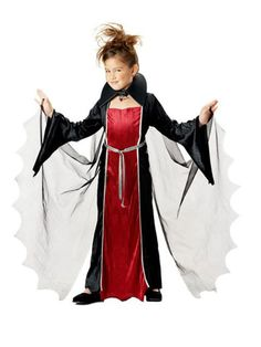 Halloween Vampire Girl Kids Costume