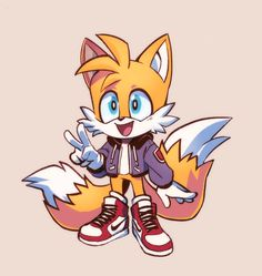 """Tails is my fav"" Silver The Hedgehog, Sonic The Hedgehog, Sonic Boom Tails, Game Character, Character Design, Chibi, Sonic The Movie, Sonic Franchise, Sonic And Shadow"