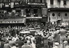 Libération de Paris, août 1945.
