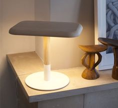 Woody W01 – an LED table lamp with a double function