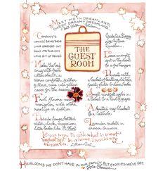 simple-pretty:    { susan branch's guestroom tips }