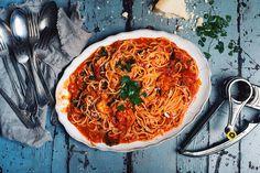 Vegetable Pizza, Pasta, Week End, Vegetables, Food, Garlic Shrimp, Tomatoes, Rice, Meal