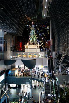 京都駅の大クリスマスツリーEstació de Kyoto