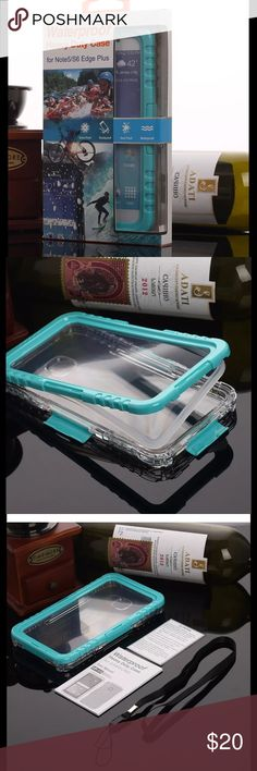 NIB Waterproof Shockproof iPhone 6/6s Phone Case Colorful Waterproof Shockproof case made by high quality PC/ABS Slim and hard design  Fully submerge under water to 236in/6m for up to 2 hrs.    * Fully sealed from dust particles.    * Fully protection for the best shockproof.    * Crystal-Clear camera window for high quality images.    * Innovation silicone membrane screen ensures functionality of touch screen. Convenient screen operation.    * Easy installation and…