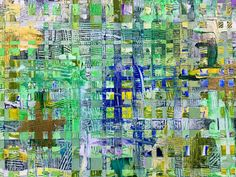 Detail from a work in progress. Artist At Work, My Images, City Photo, Paintings, Abstract, Detail, Summary, Painting Art, Painting