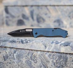 Nôž UTE 440C Stonewash, Kizlyar Supreme