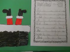 Free Santa's Stuck Writing Activity