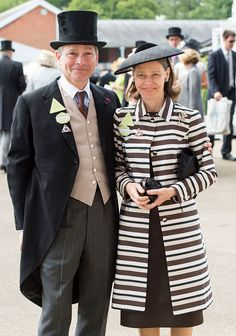 Sarah Chatto and Daniel Chatto on day 1 of Royal Ascot at Ascot Racecourse on June 2015 in Ascot, England. Royal Ascot - Day 1 at Ascot Racecourse on June 2015 in Ascot, England.