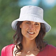 Soak this hat in water to keep you cool while you work! via Solutions