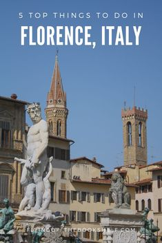 Traveling to Florence, Italy? You don't want to miss these 5 things in this magical medieval town! Florence Italy Travel | Florence Italy Sights Italy Travel Tips, Europe Travel Guide, Travel Guides, Travel Destinations, Things To Do In Italy, 5 Things, Best Places To Travel, Cool Places To Visit, Travel Advise