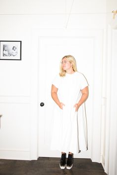 """We just we launched e-commerce recently, which has been really interesting."" http://www.thecoveteur.com/kaelen-haworth-apartment/"