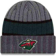 8f4ba4dbeba New Era Minnesota Wild Stripe Chiller Beanie Knit Cap Hat NHL Hockey  80288609