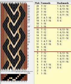 16 tarjetas, 5 colores, repite cada 8 movimientos // sed_1032 diseñado en GTT༺❁