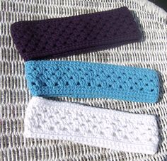Shell Stitch Crochet Ear Warmer Pattern $4.00 on Craftsy at http://www.craftsy.com/pattern/crocheting/accessory/shell-stitch-crochet-ear-warmer-pattern/31076