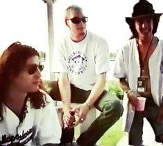 Sean Kinney, Layne Staley & Mike Inez; Lollapalooza June 18,1993;Vancouver, BC