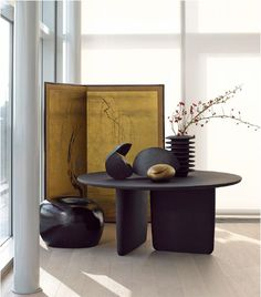 Tobi Ishi #table by #BandB #Italia. Design Edward Barber and Jay Osgerby