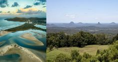 Touring the East Coast of Australia in -Noosa and the Glass House Mountains. Coast Australia, Glass House, East Coast, Touring, Mountains, Travel, Outdoor, House Of Glass, Outdoors