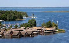 Der Müritz-See ... einfach eine unglaubliche Kulisse für Ihren Urlaub! #einfachschönerurlaub