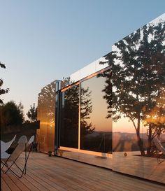 Mirror image: Casa Invisibile launches Delugan Meissl's prefab concept   Wallpaper*