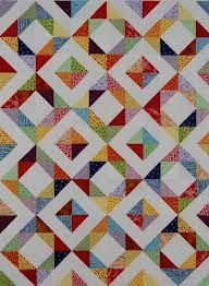 HST charm quilt