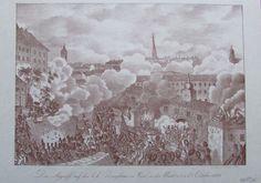 Der Angriff auf das k.k. Zeughaus zu Wien 1848 FRANZ WERNER Faksimile