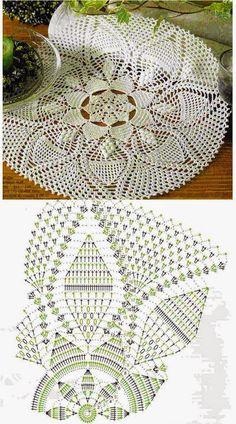 Kira scheme crochet: Scheme crochet no. 915