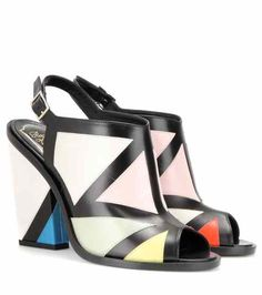 Leather sandals | #RogerVivier