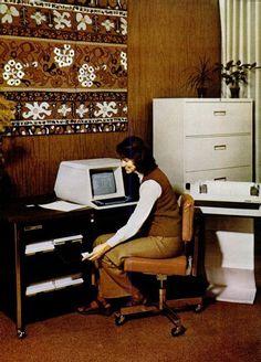 Digital office, 1975