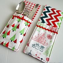 Christmas in July ~ Christmas Tree Table Runner | Sew Mama Sew | Outstanding sewing, quilting, and needlework tutorials since 2005.
