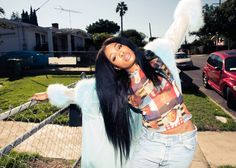 """""""I was being defiant, but then I fell in love with trying—trying to grow as a writer, trying to be better, trying to figure out what resonated with me and how to get rid of my insecurities."""" – SZA, Coveteur…Read more › Crop Tops, Cropped Tops"""