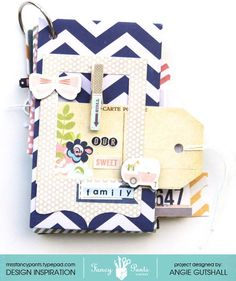 Fancy Pants Designs Family Mini Album - Scrapbook.com