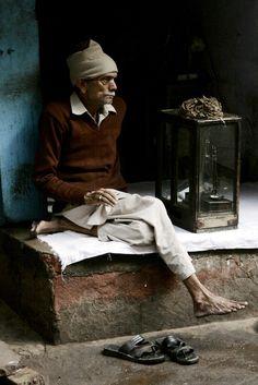 Man in Delhi
