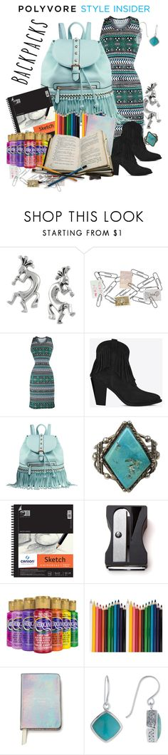 """""""Backpack Stylin'"""" by memorykeeper ❤ liked on Polyvore featuring Journee Collection, Philippi Design, Yves Saint Laurent, MKF Collection, Monkey Business, Mr Perswall, Kate Spade, backpacks, contestentry and PVStyleInsiderContest"""