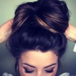 The Sock Bun! It's quick and easy and the perfect look for any occasion -work, night out, class, I even wore it to a wedding recently. Girls, this look is absolutely effortless and it looks so polished. I'm going to give you a few tips on how to pull this off.