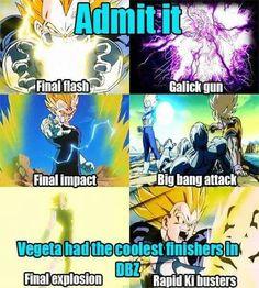 Vegeta's best attacks! Dragon Dall Z, Dbz, Bigbang, Anime, Prince, Facts, Cartoon, Manga, Comics