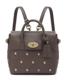 3ada90732c85 Pin for Later  Cara Delevingne s Chic Mulberry Bags Can Now Be Yours Taupe  silky classic