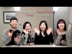 Learn Korean with Speak Korean Today! Conversation18 - I am going to the...