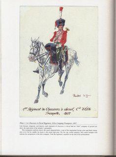 Chasseurs à Cheval Regiment: Plate 3