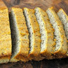 Grain-free nut-free bread recipe realhealthyrecipes