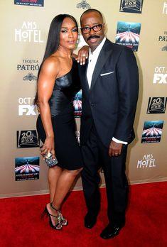 Angela Bassett & husband