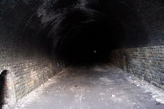 Old railway tunnel, Pudsey, West Yorkshire, England, 12/2011, (MT)